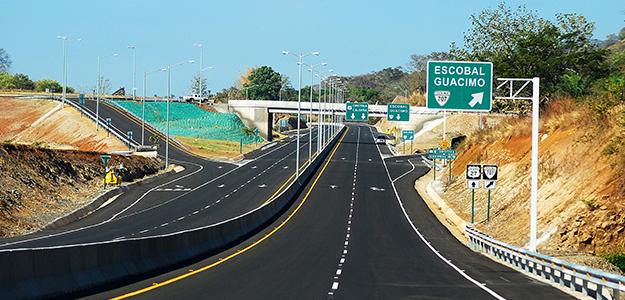 Imagen de la Carretera que va hacia Escobal y Guácimo